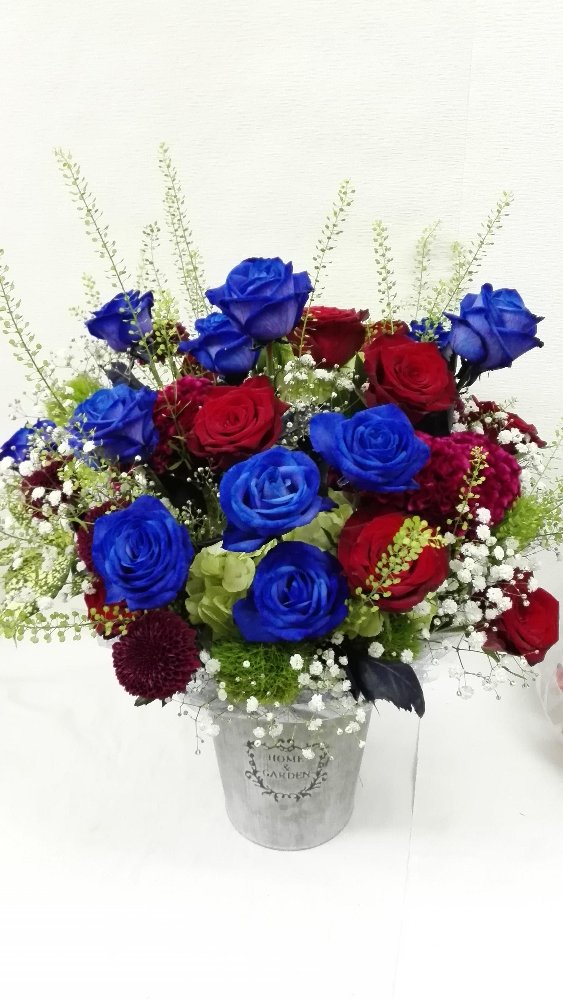 ブルーの薔薇