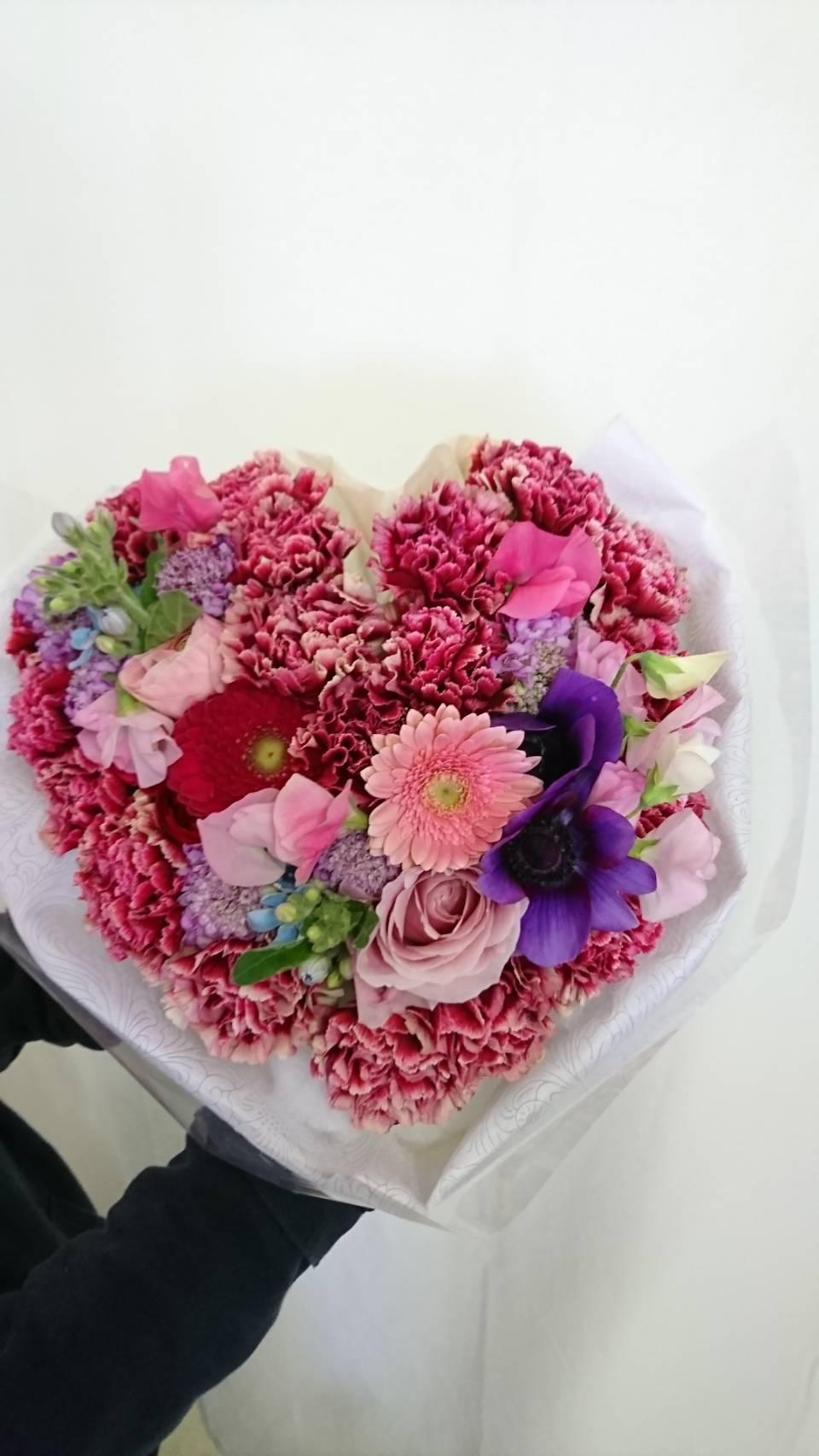ハートの花束💐